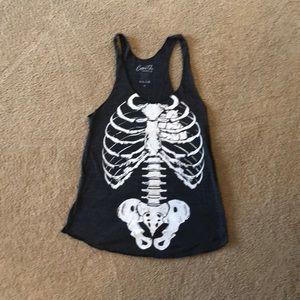 Skeleton tank top